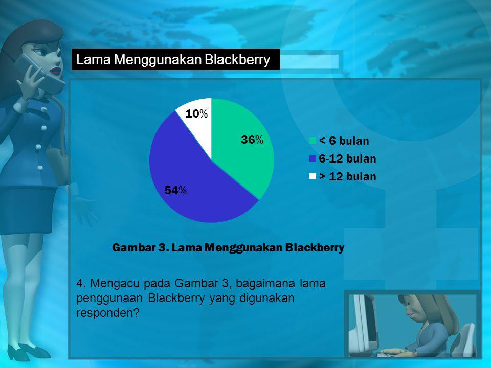 Lama Menggunakan Blackberry