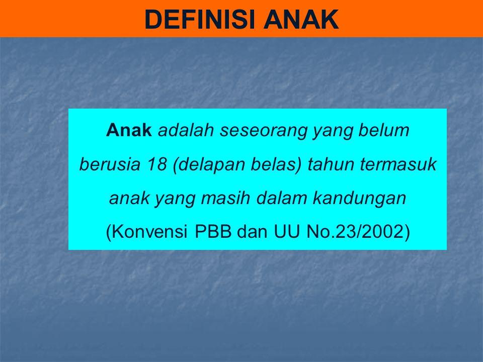 (Konvensi PBB dan UU No.23/2002)
