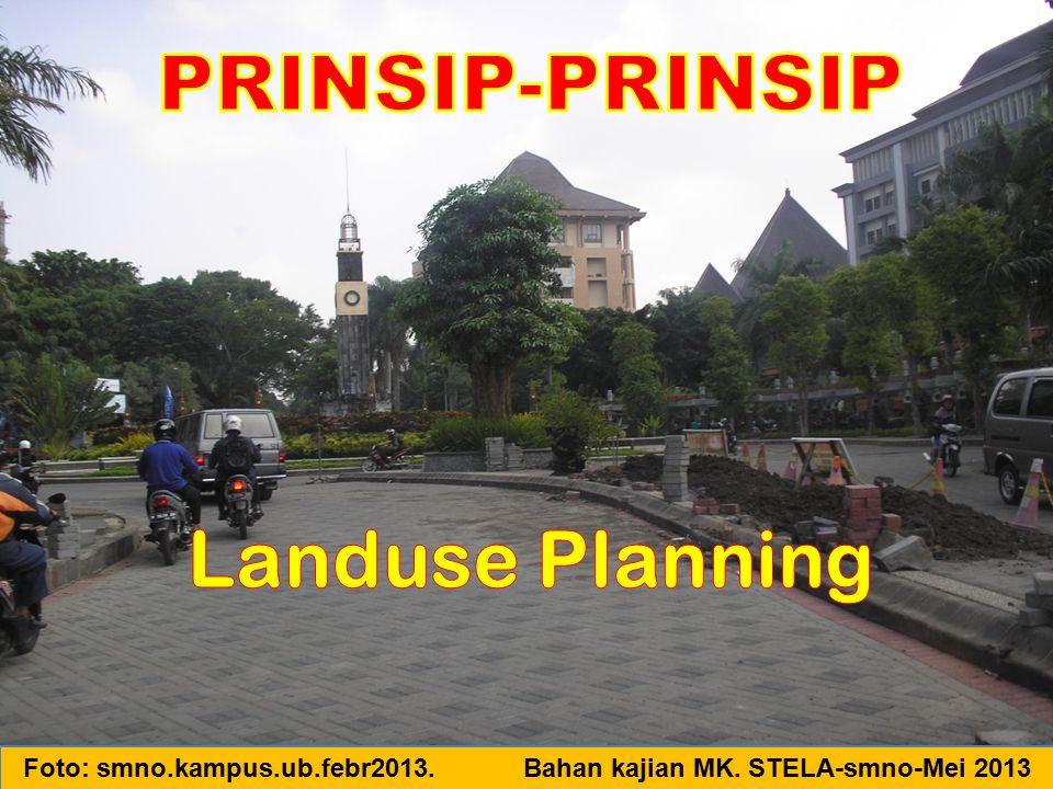 PRINSIP-PRINSIP Landuse Planning