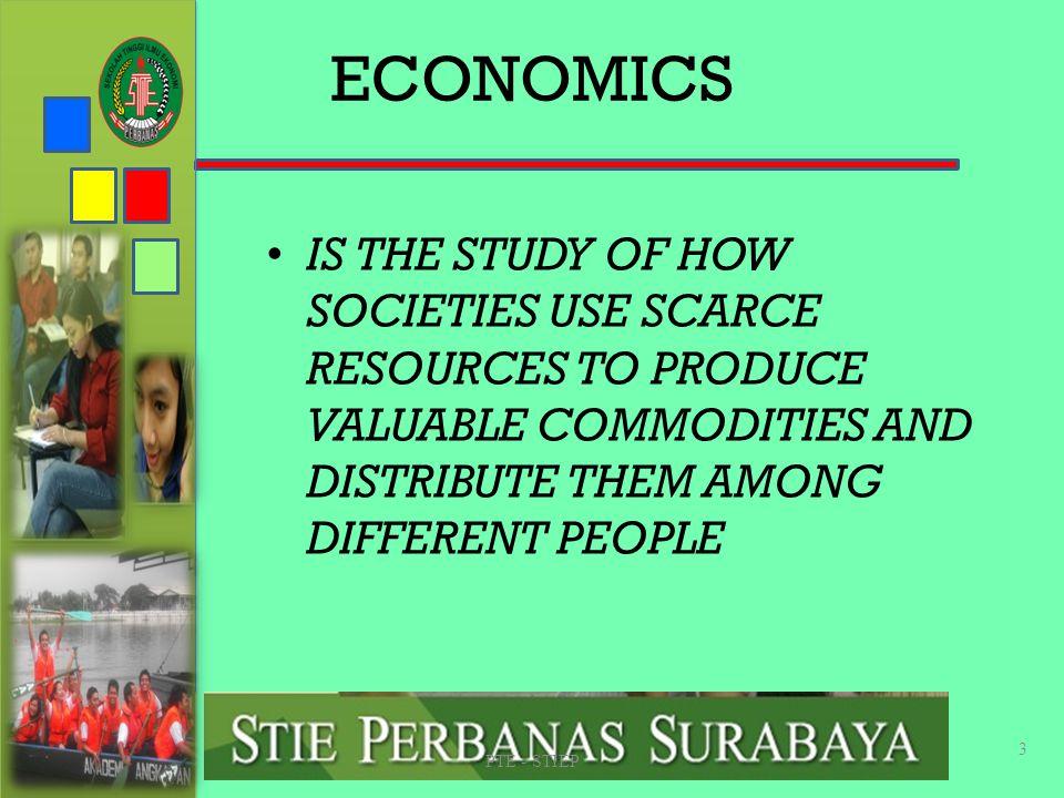 STIE PERBANAS SUABAYA ECONOMICS.
