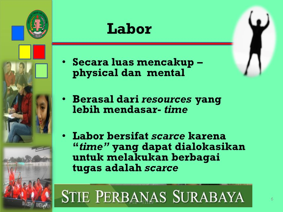 Labor Secara luas mencakup – physical dan mental