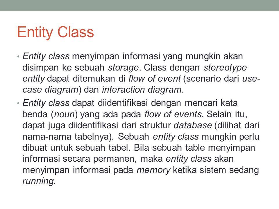 Entity Class