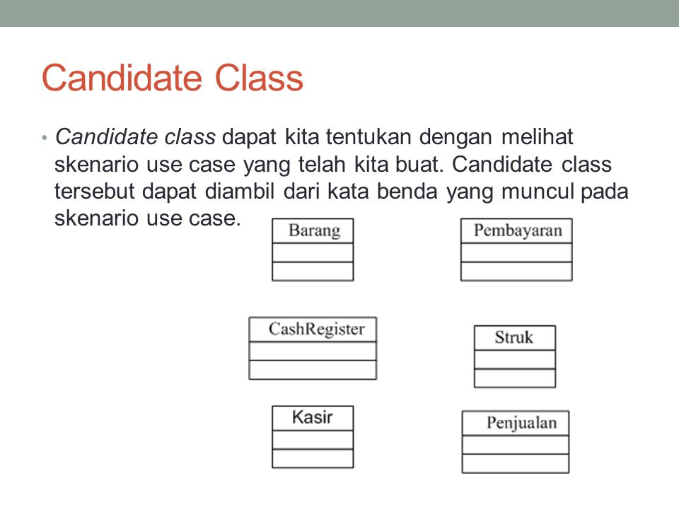 Candidate Class