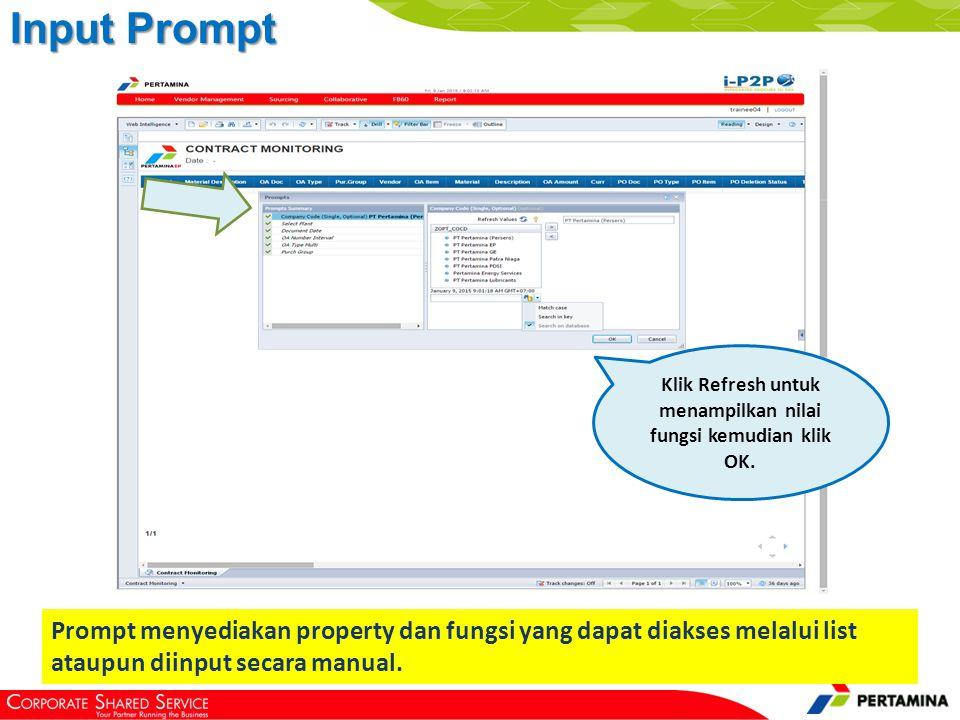 menampilkan data hasil filter pada prompt