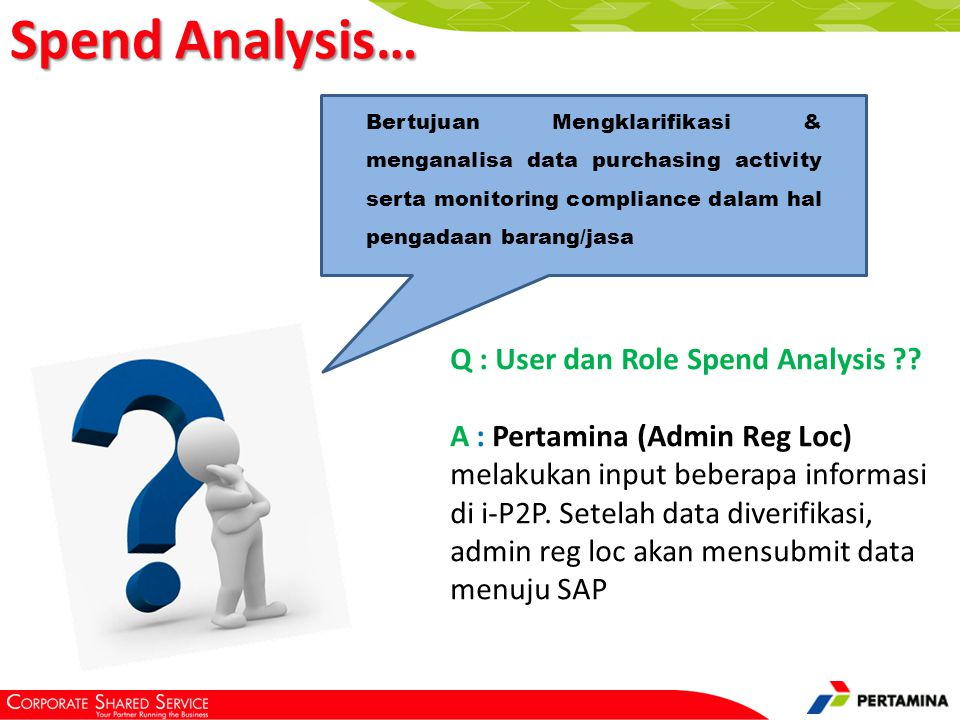 Spend Analysis Normal Flow
