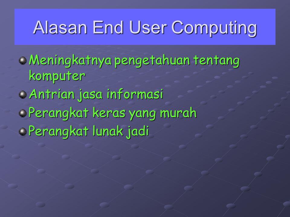 Alasan End User Computing