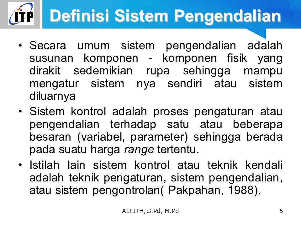 Definisi Sistem Pengendalian