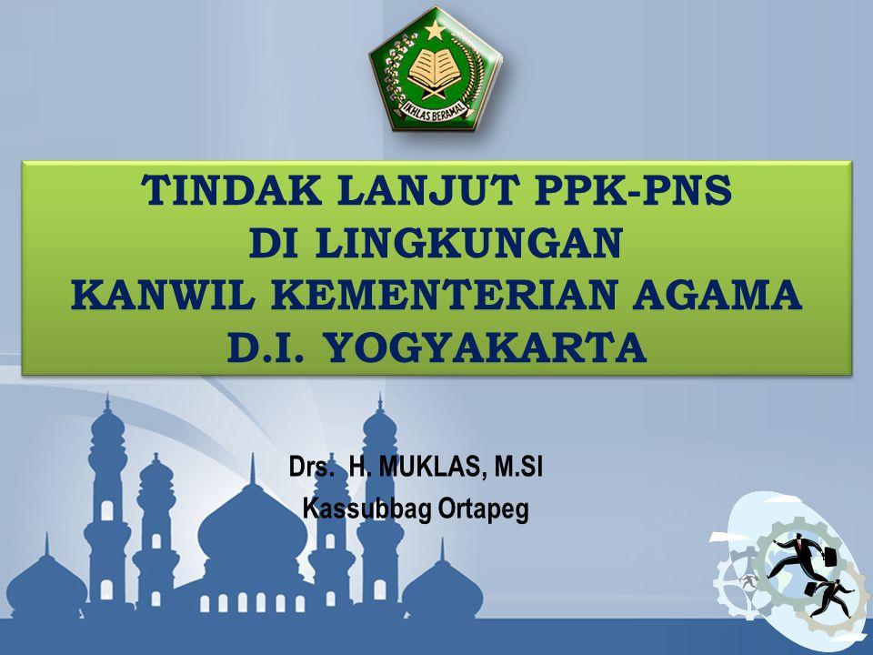 Drs. H. MUKLAS, M.SI Kassubbag Ortapeg