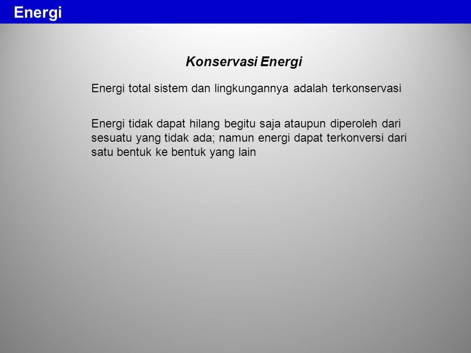Energi Konservasi Energi