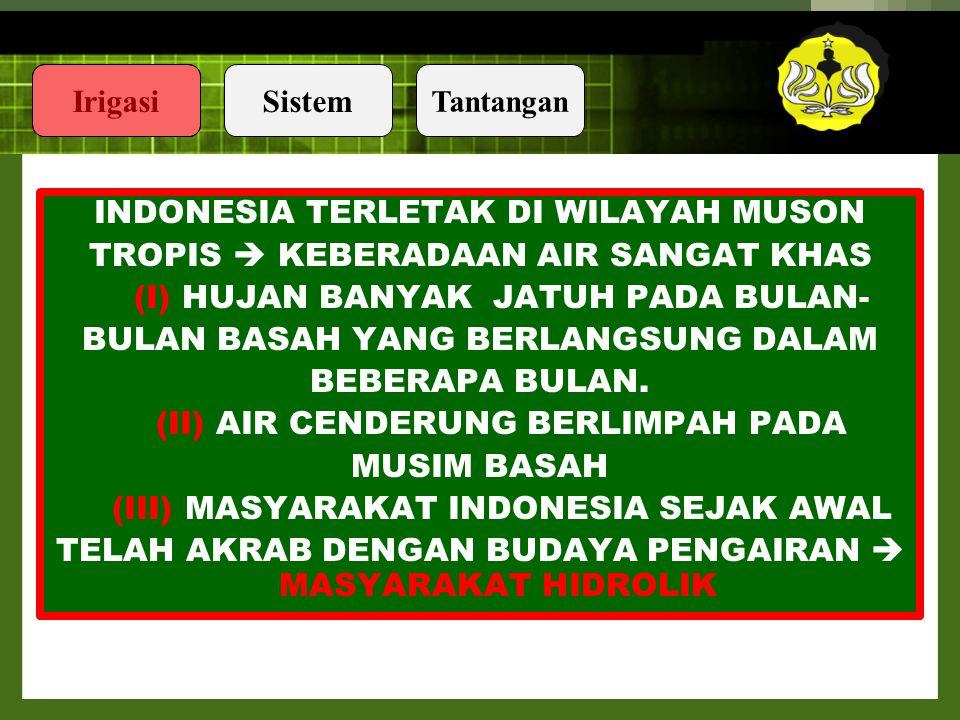 INDONESIA TERLETAK DI WILAYAH MUSON