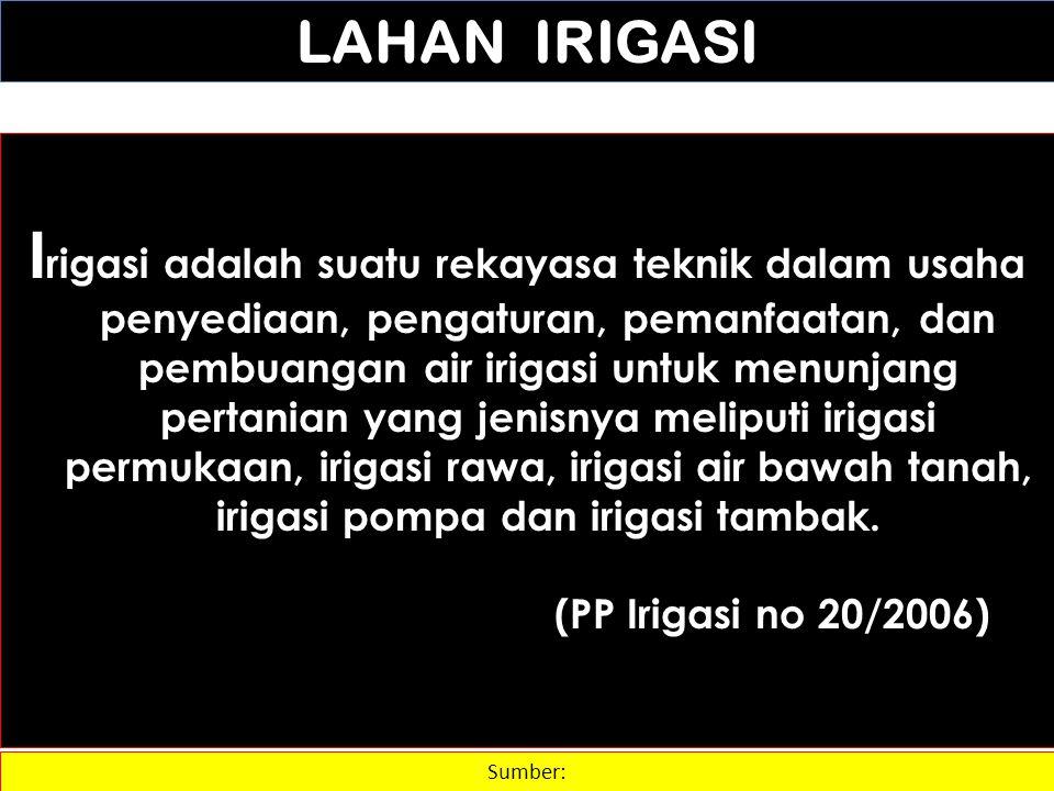 LAHAN IRIGASI