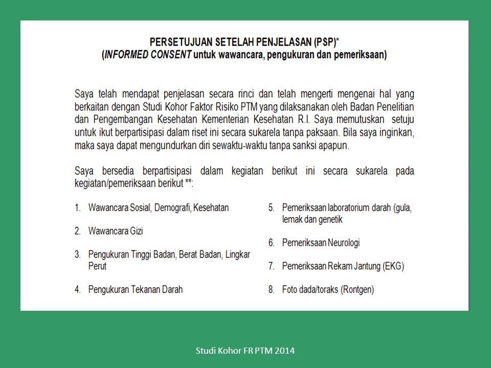 Studi Kohor FR PTM 2014