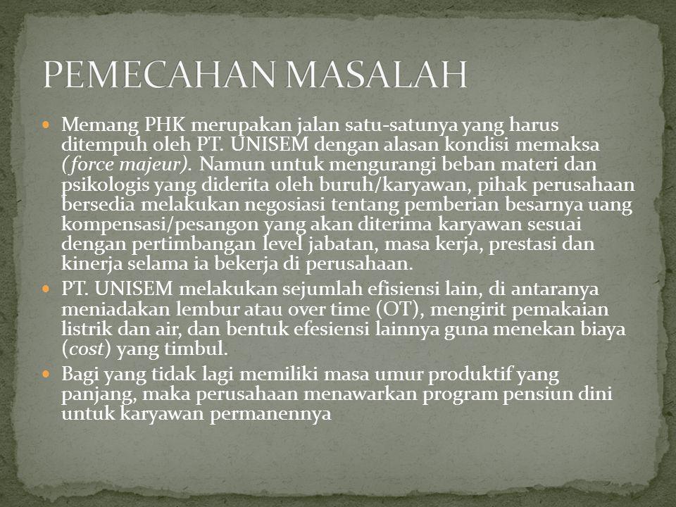PEMECAHAN MASALAH