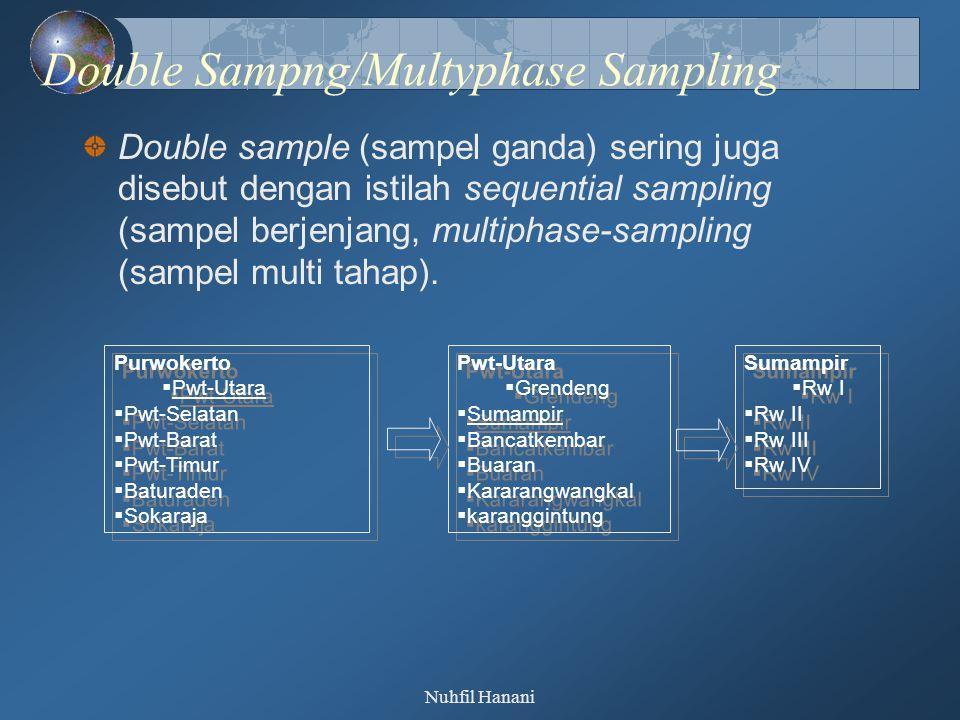 Double Sampng/Multyphase Sampling