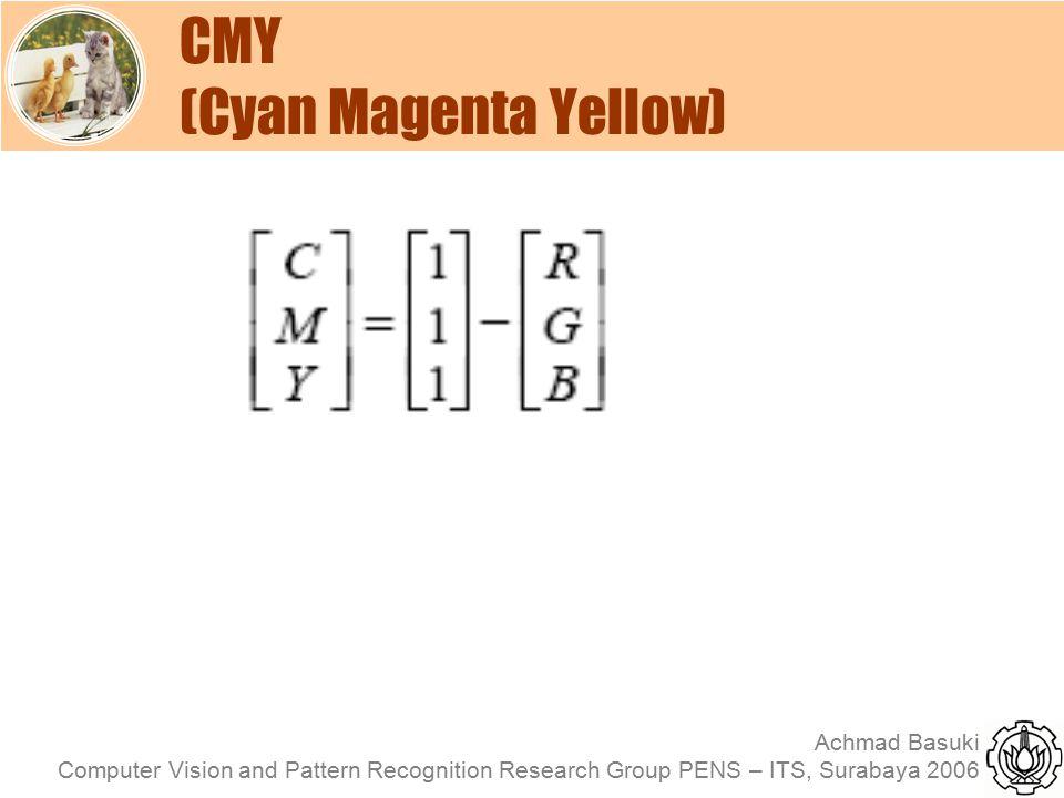 CMY (Cyan Magenta Yellow)