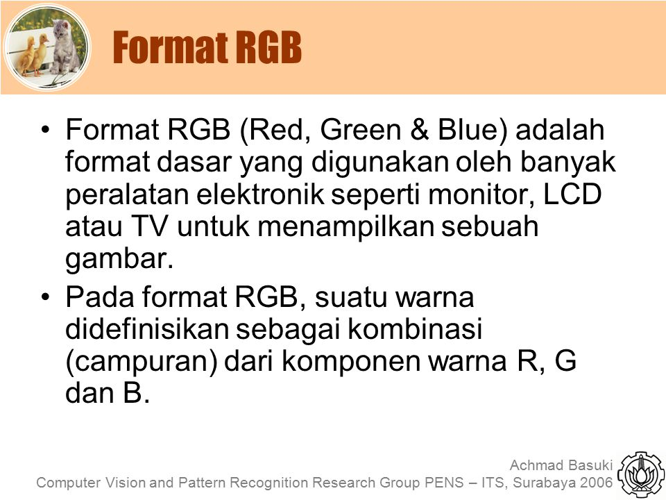 Format RGB