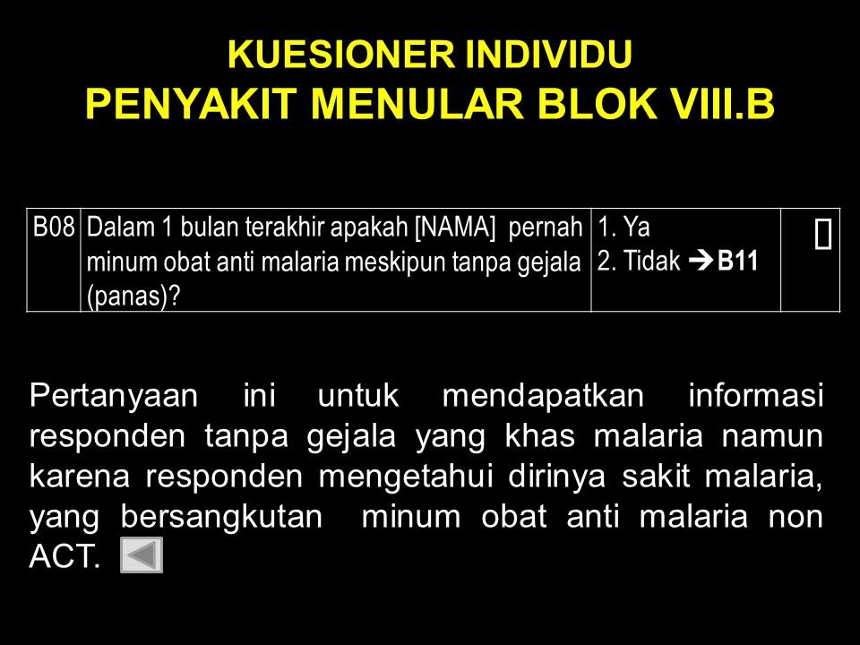 KUESIONER INDIVIDU PENYAKIT MENULAR BLOK VIII.B
