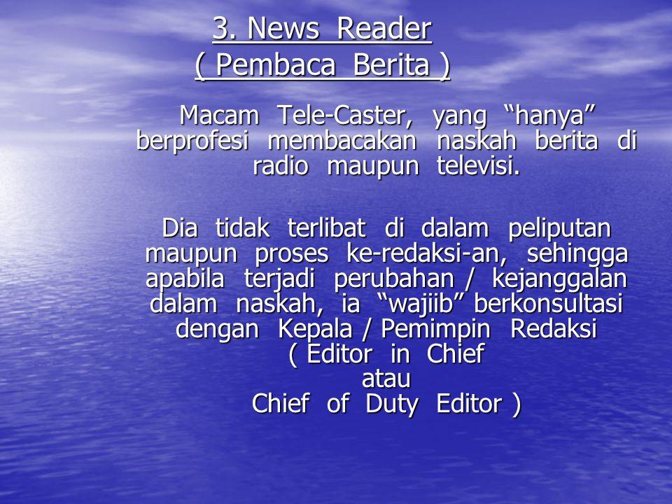 3. News Reader ( Pembaca Berita )