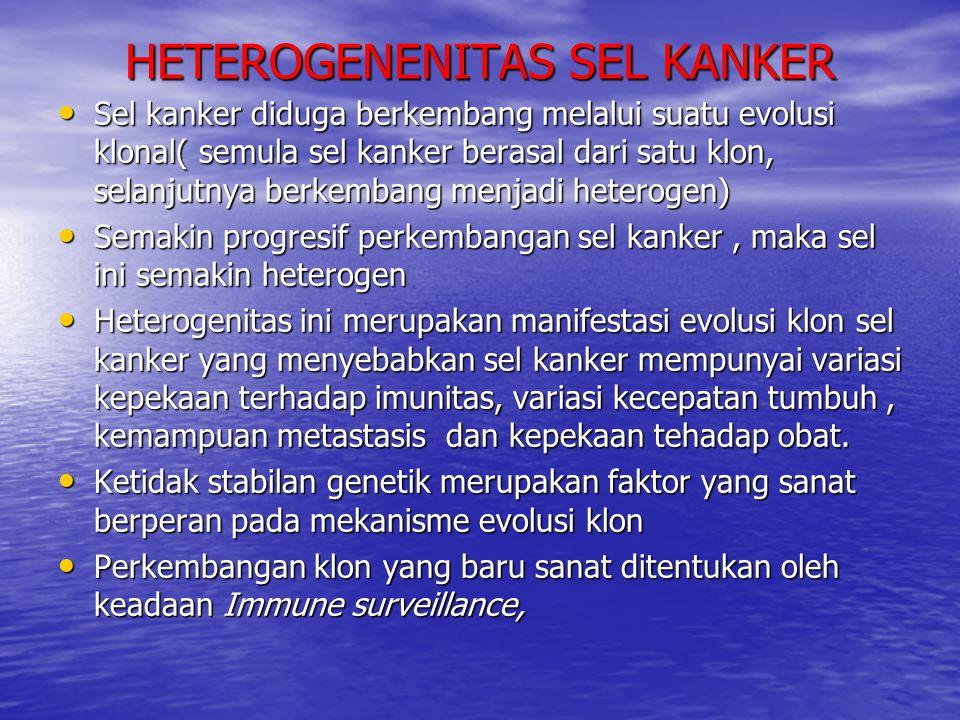 HETEROGENENITAS SEL KANKER