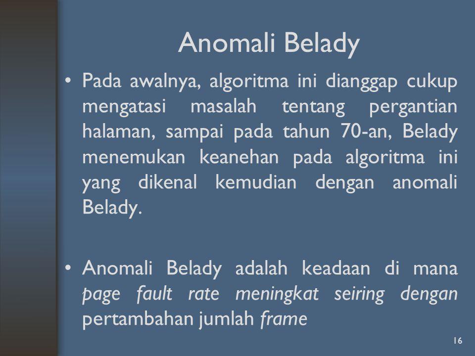 Anomali Belady