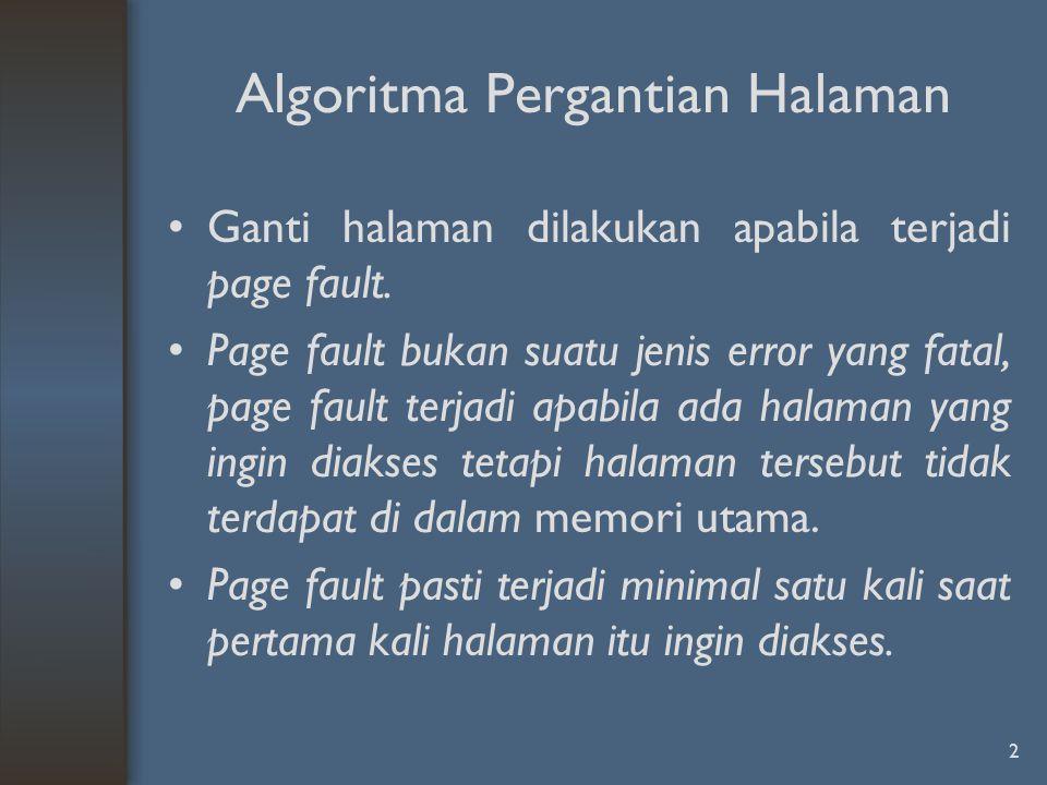 Algoritma Pergantian Halaman