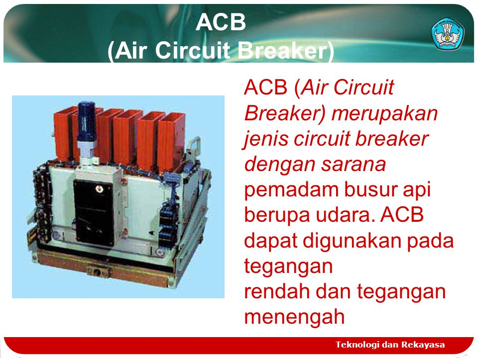 ACB (Air Circuit Breaker)
