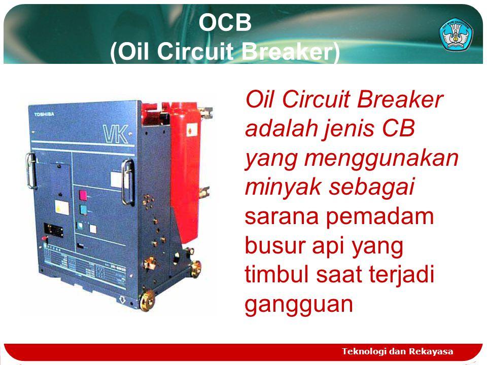 OCB (Oil Circuit Breaker)