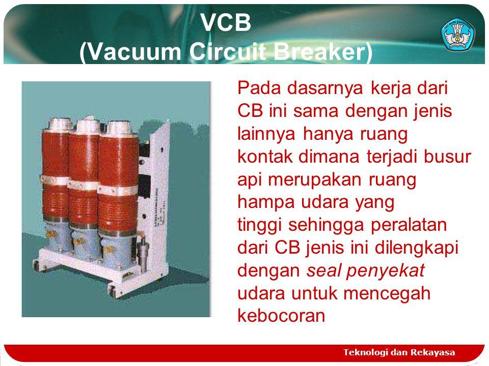 VCB (Vacuum Circuit Breaker)