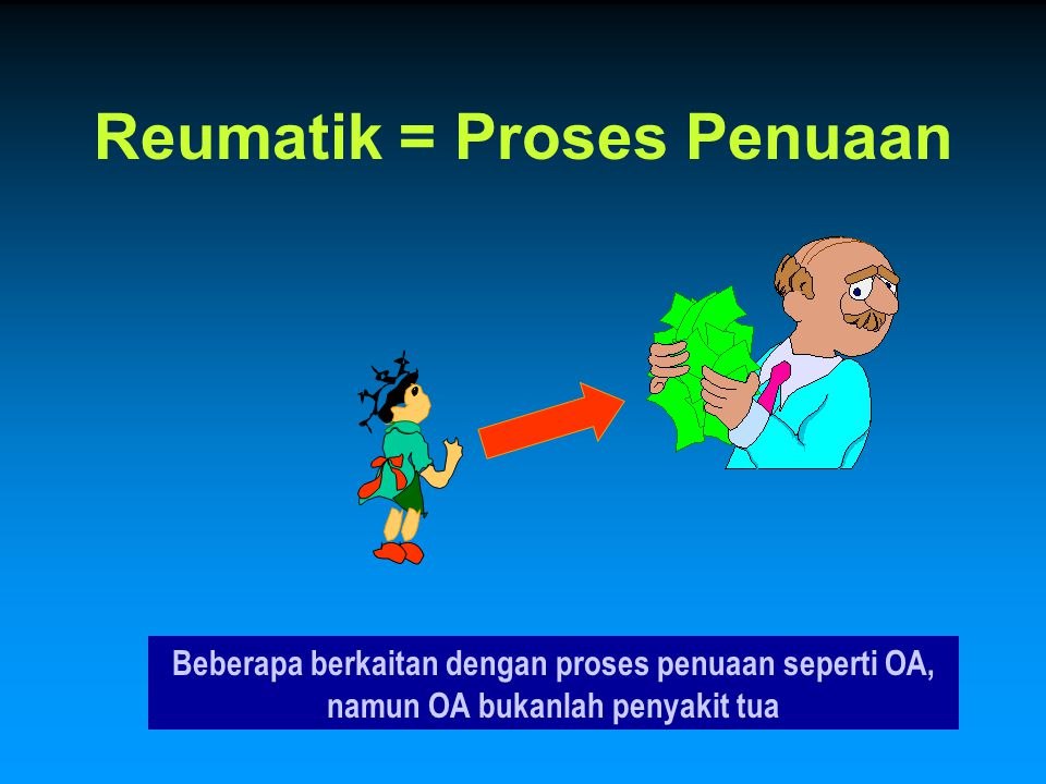 Reumatik = Proses Penuaan