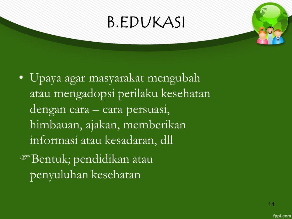 B.EDUKASI