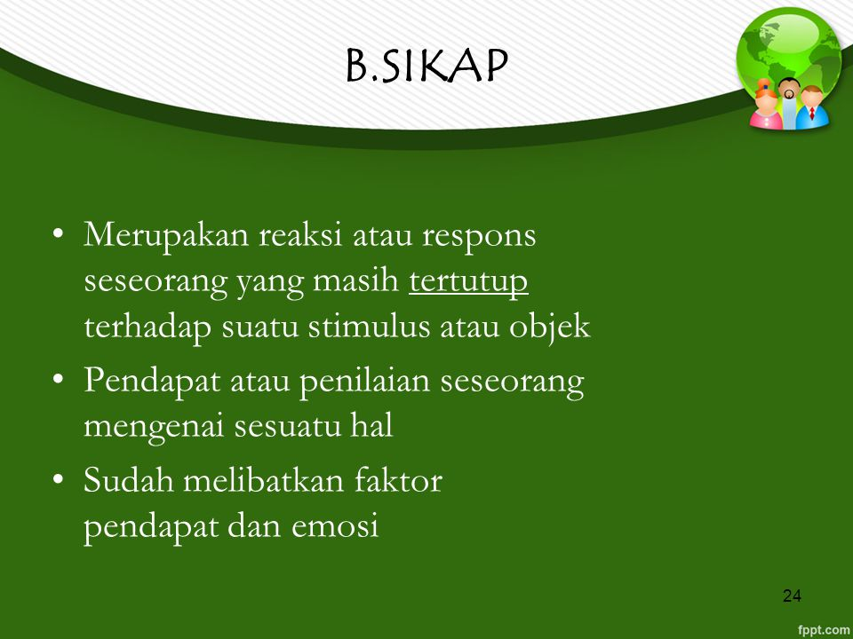 B.SIKAP