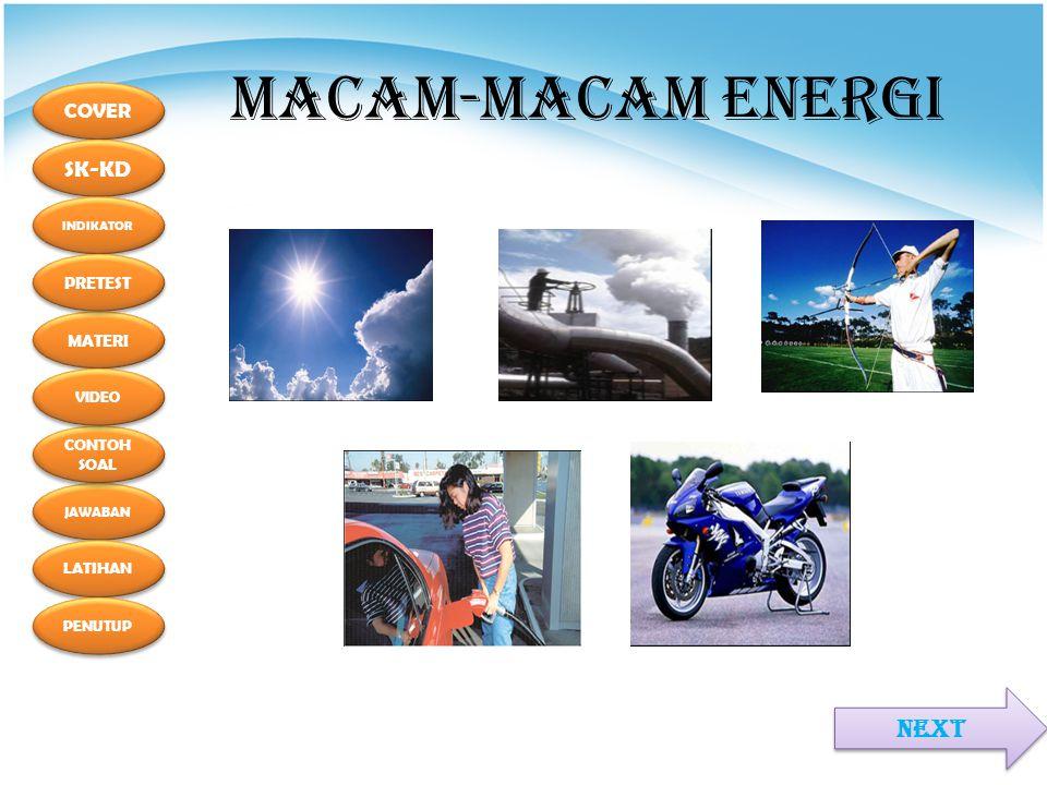 MACAM-MACAM ENERGI NEXT