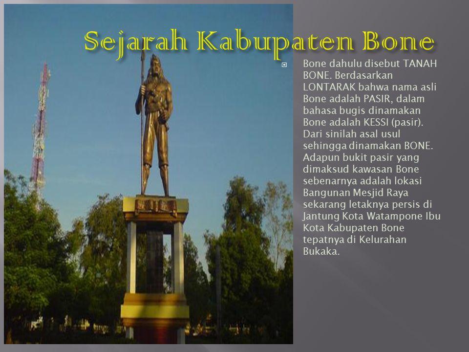 Sejarah Kabupaten Bone