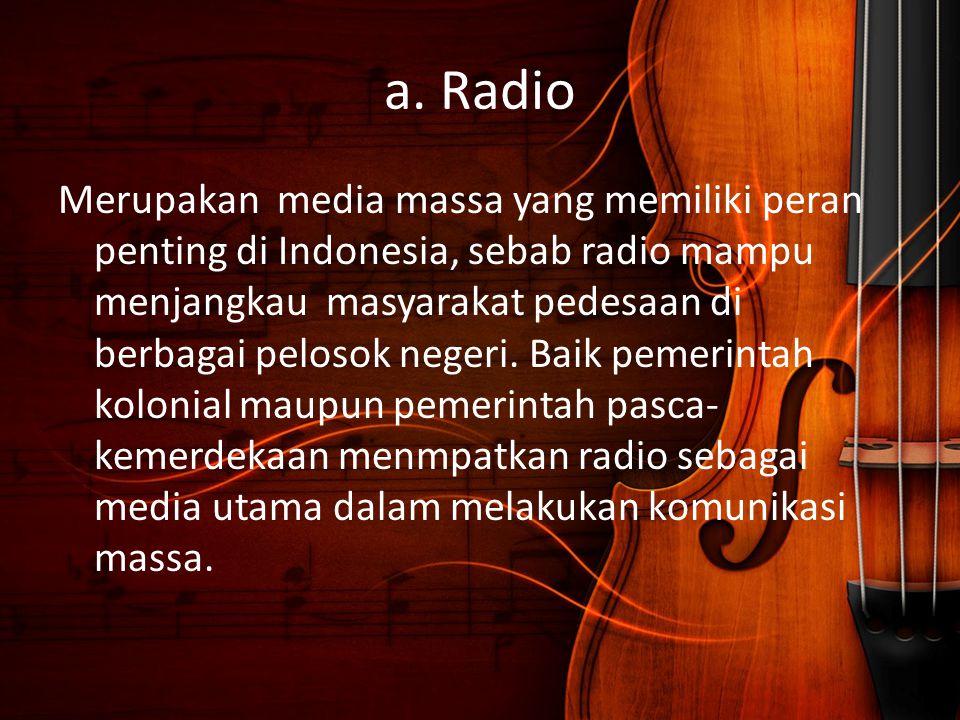 a. Radio