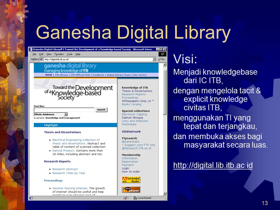 Ganesha Digital Library