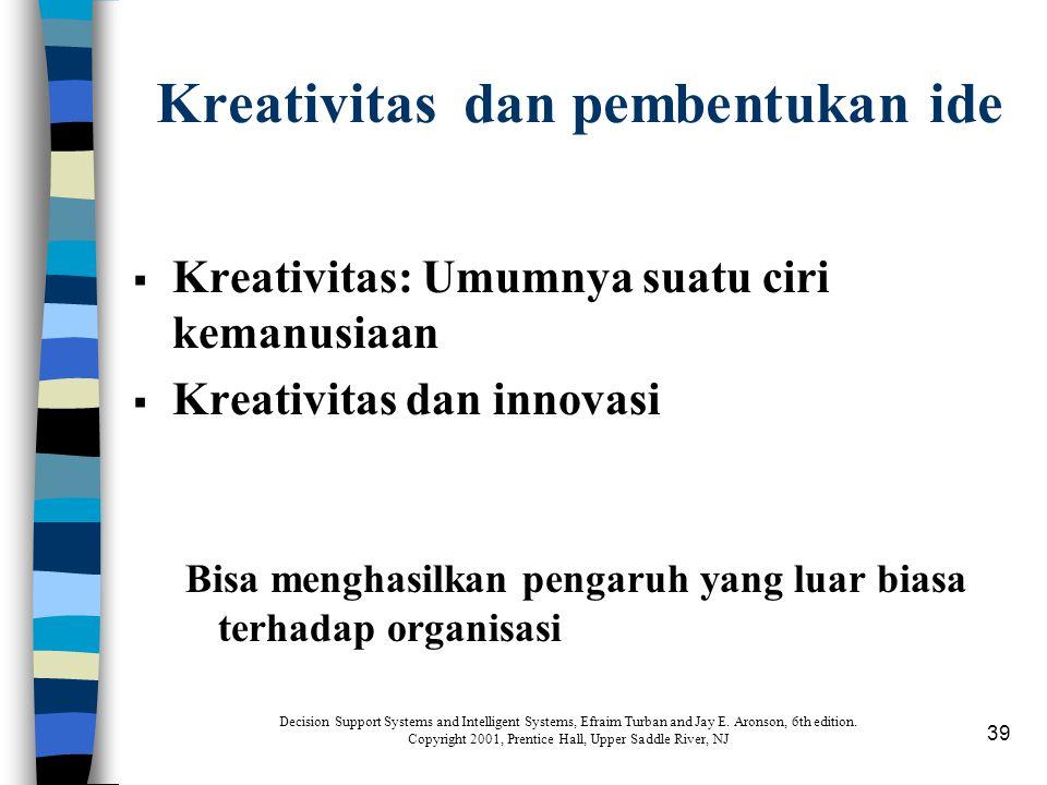 Kreativitas dan pembentukan ide