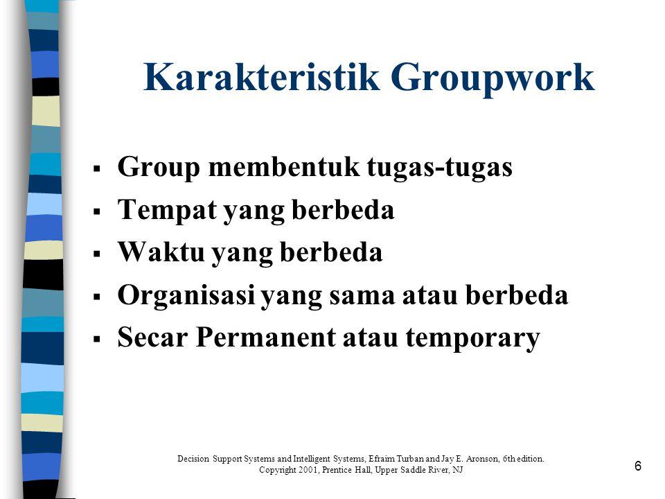Karakteristik Groupwork