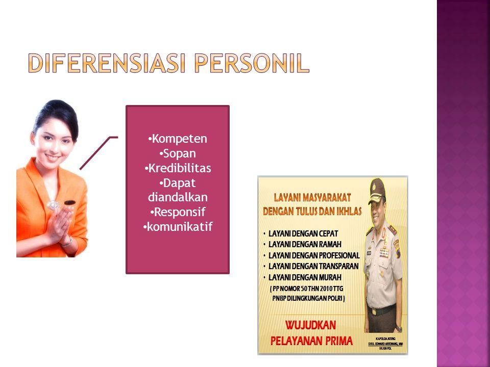 Diferensiasi Personil