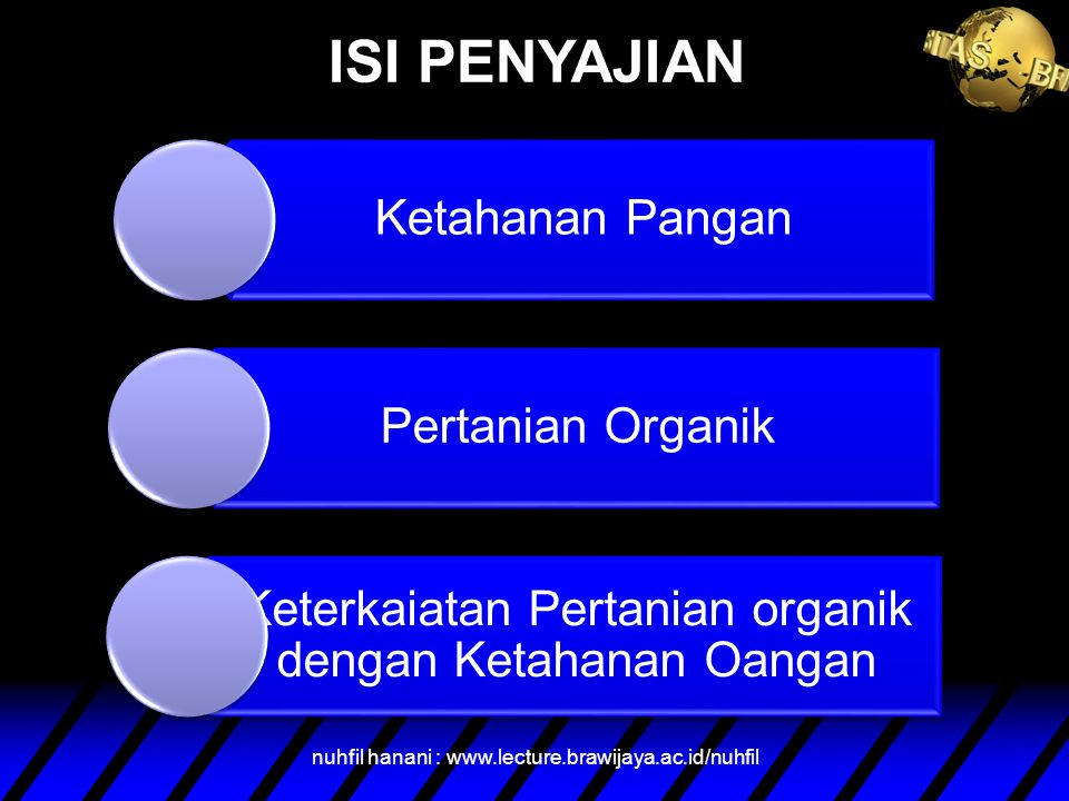 ISI PENYAJIAN nuhfil hanani : www.lecture.brawijaya.ac.id/nuhfil