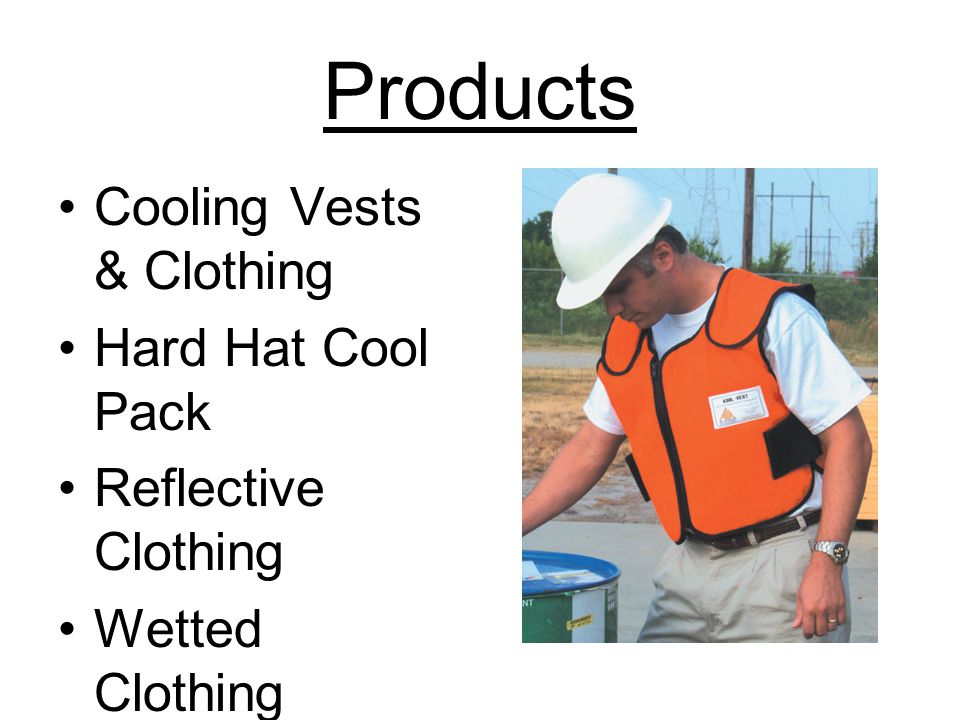 Products Cooling Vests & Clothing Hard Hat Cool Pack