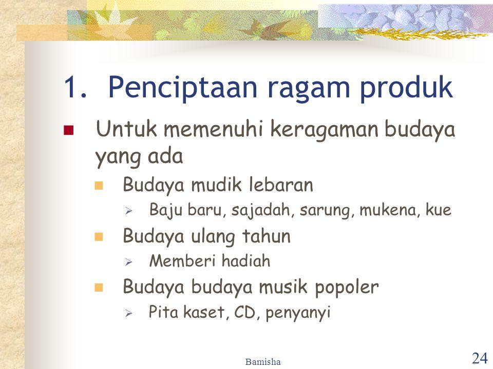 Penciptaan ragam produk
