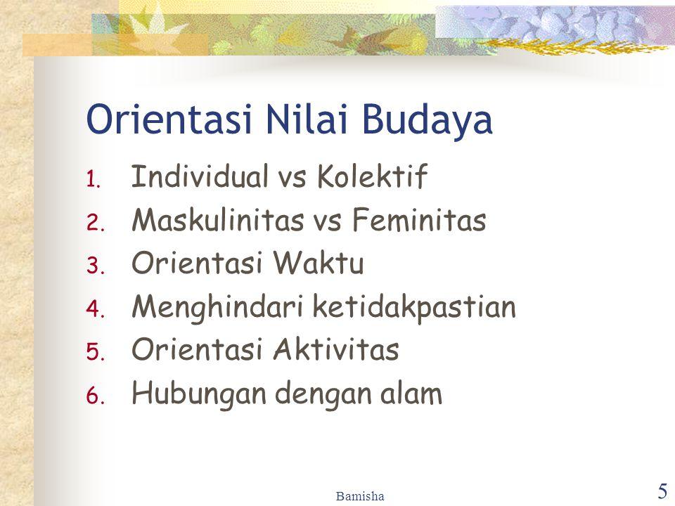 Orientasi Nilai Budaya