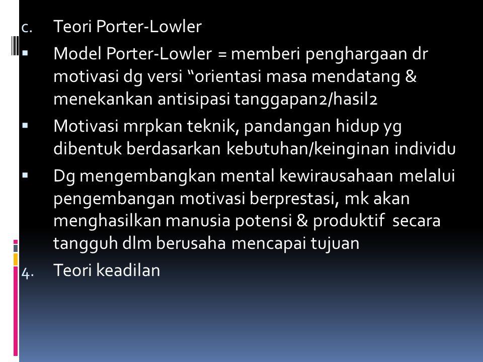 Teori Porter-Lowler