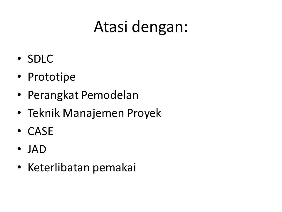 Atasi dengan: SDLC Prototipe Perangkat Pemodelan