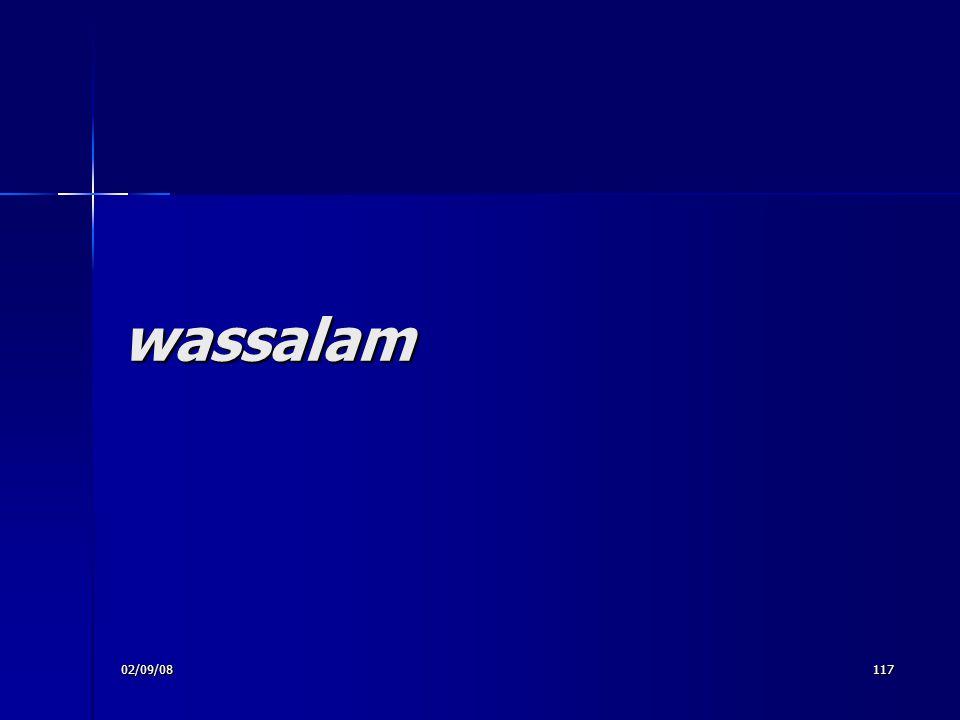 wassalam 02/09/08