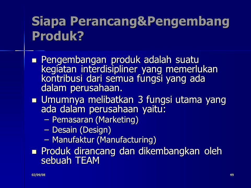 Siapa Perancang&Pengembang Produk