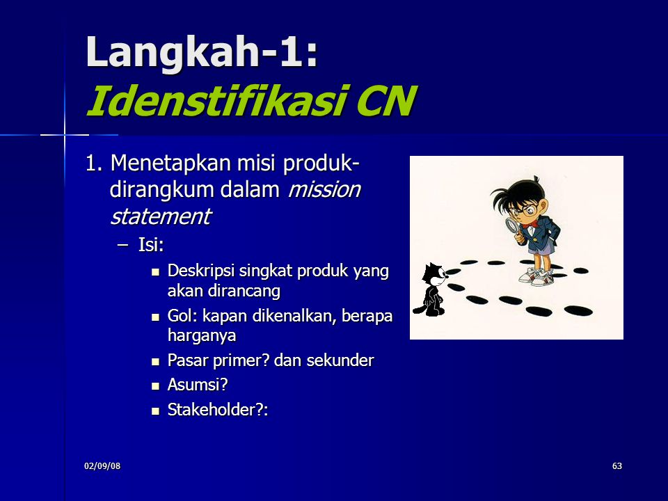 Langkah-1: Idenstifikasi CN