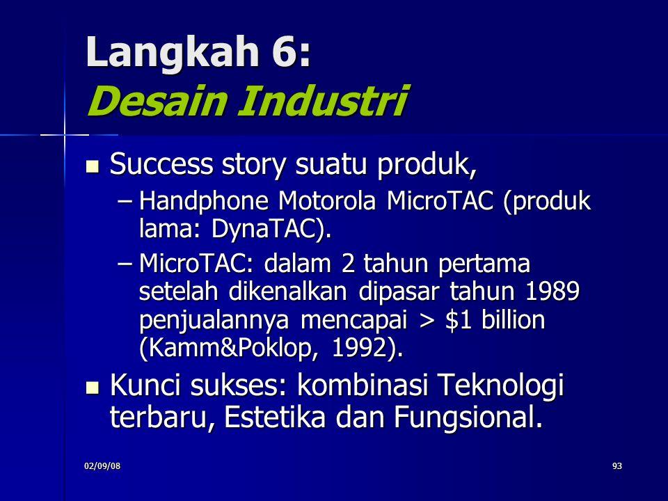 Langkah 6: Desain Industri