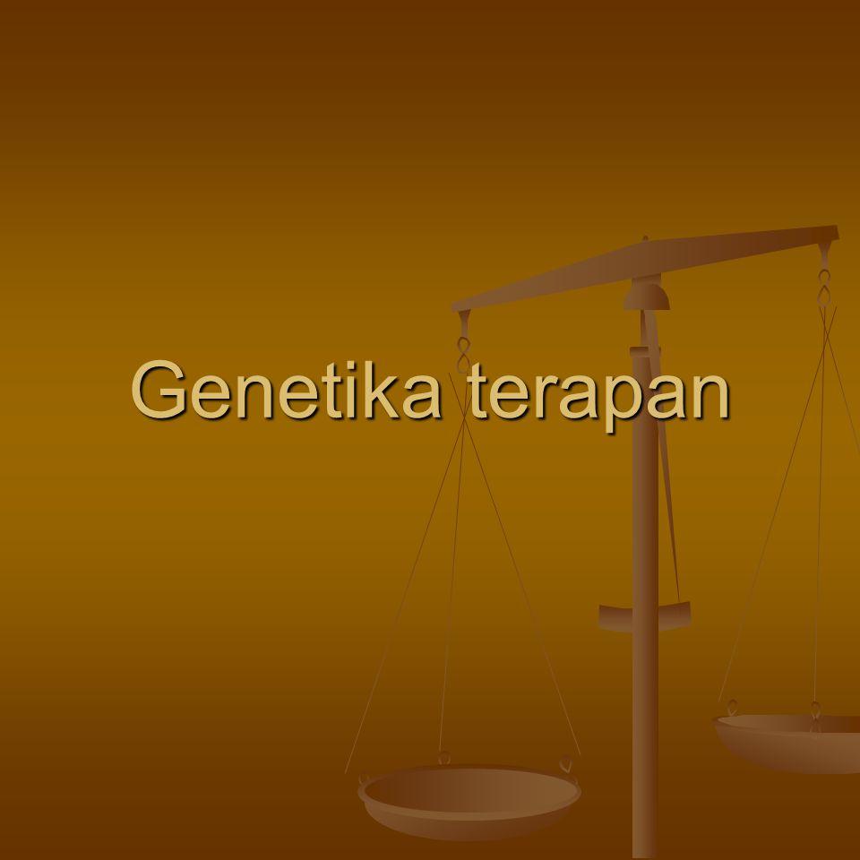 Genetika terapan