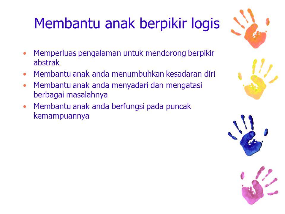 Membantu anak berpikir logis